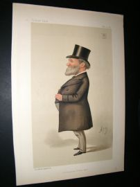 Vanity Fair Print 1887 James Porter Corry, Business